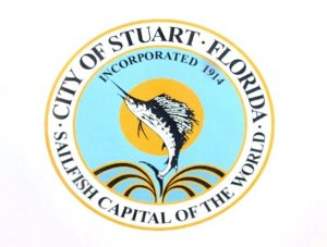 City of Stuart sailfish.
