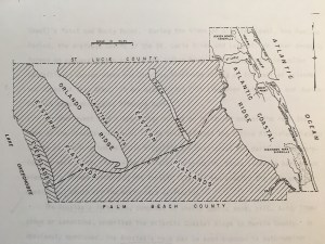 Map of our area in the 1982 Coastal Management Zone document showing heights. in MC. (Mark Perry)