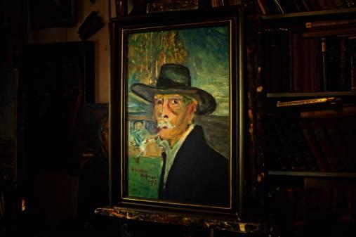 Ostatni autoportret namalowany rok przed smiercią