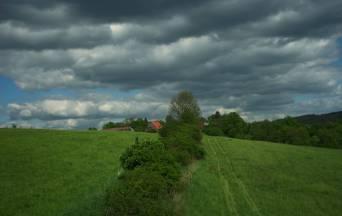 Tarczyn jedna z najmniejszym wsi Dolnego Śląska