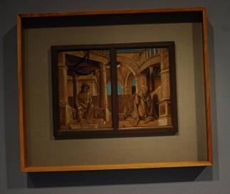 """Datowany na lata 1518-1520 obraz Holbeina """"Chrystus Frasobliwy i żałoba Marii"""""""