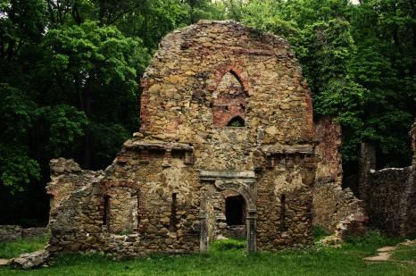 Po wojnach husyckich w Starym Książu schronienie znaleźli raubritterzy. W 1484 roku zamek został zdobyty, zniszczony i popadł w ruinę