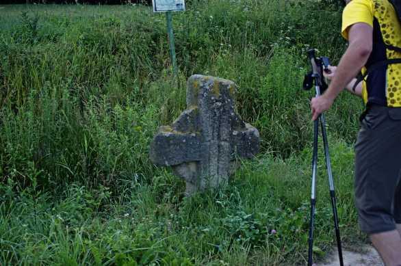 Krzyż pokutny z aureolą