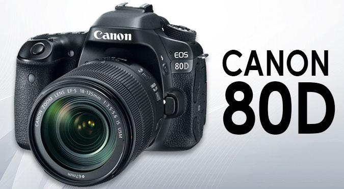 Canon 80D DSLR Camera