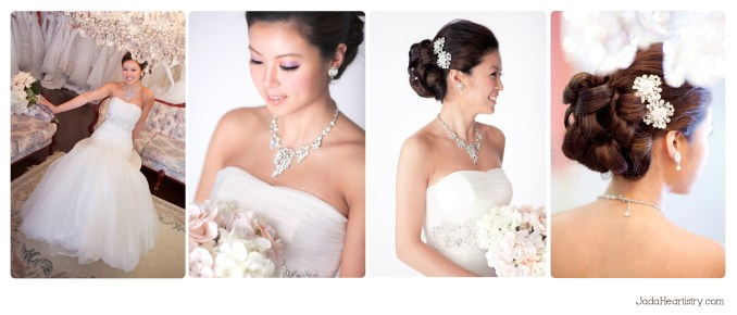 jada heartistry portfolio - gta toronto bridal makeup and
