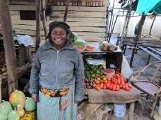 One of the Kiva borrowers in Tala.