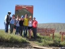 Fellows! L-R: Our driver, Kim, Amy, Liz, Duda, Felipe, Rachel, and me.