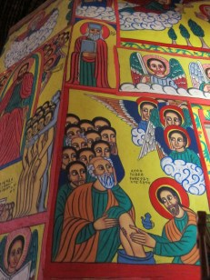 Jesus washing the feet of the Apostles