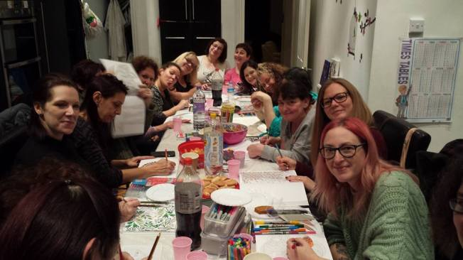 Colouring fun!