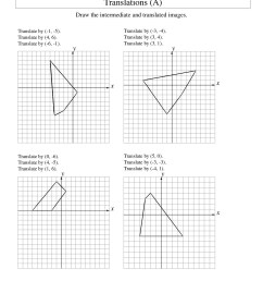 Transformations Math Worksheets   Printable Worksheets and Activities for  Teachers [ 1584 x 1224 Pixel ]