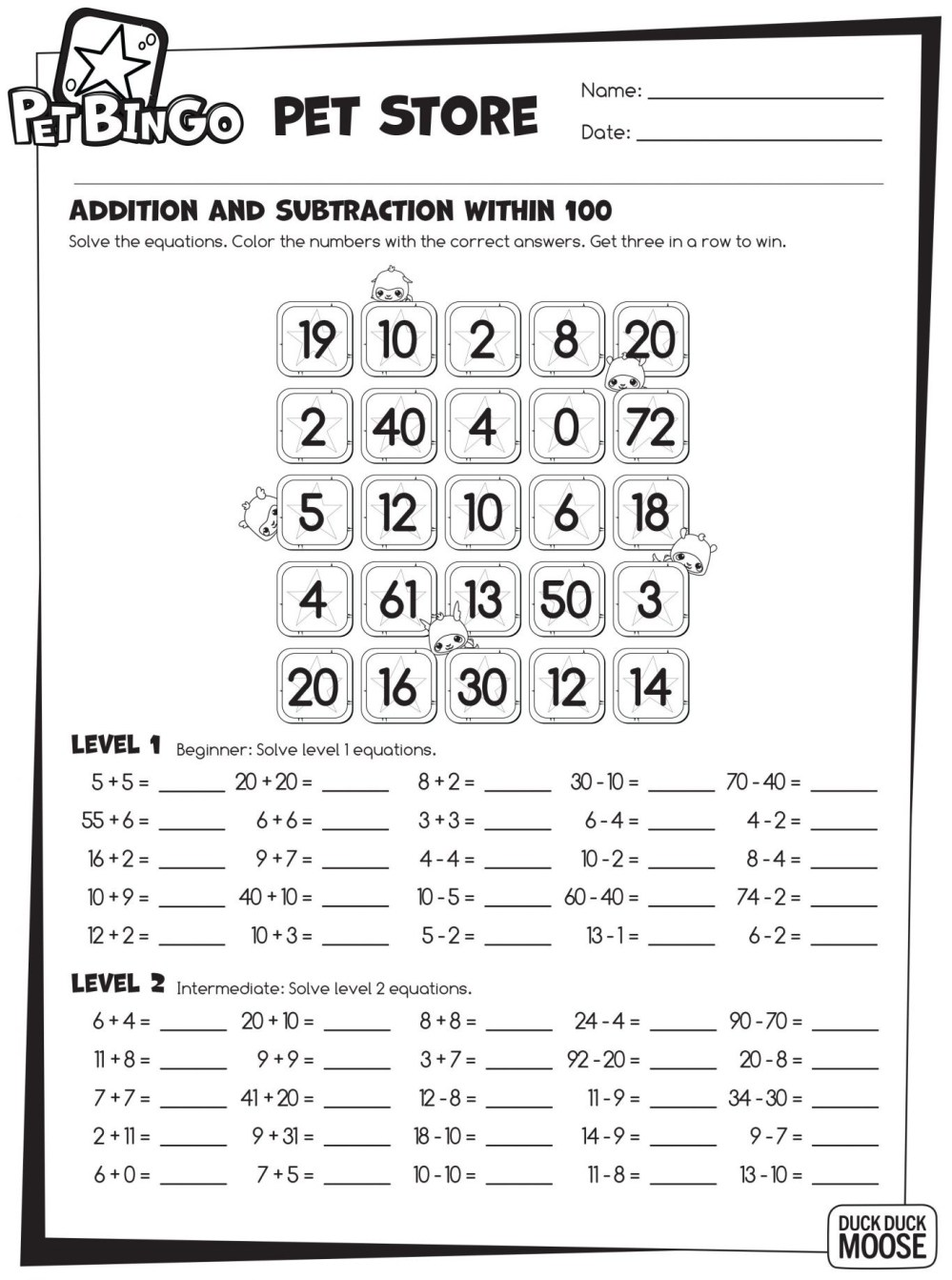 medium resolution of Math Bar Model Worksheet   Printable Worksheets and Activities for  Teachers
