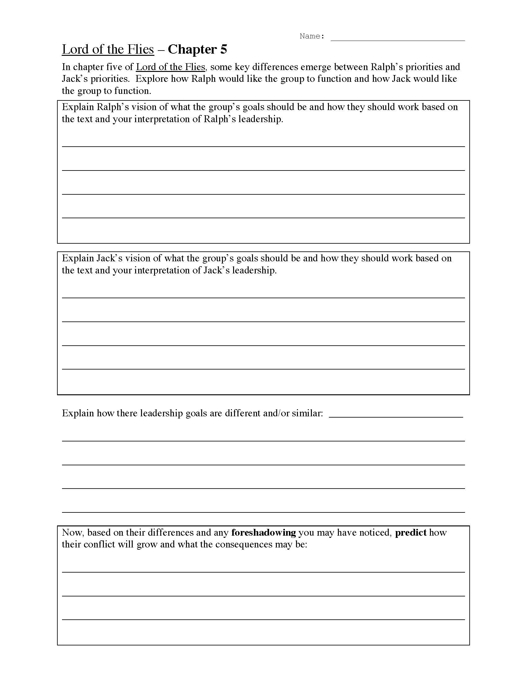 30 Foreshadowing Worksheets 5th Grade