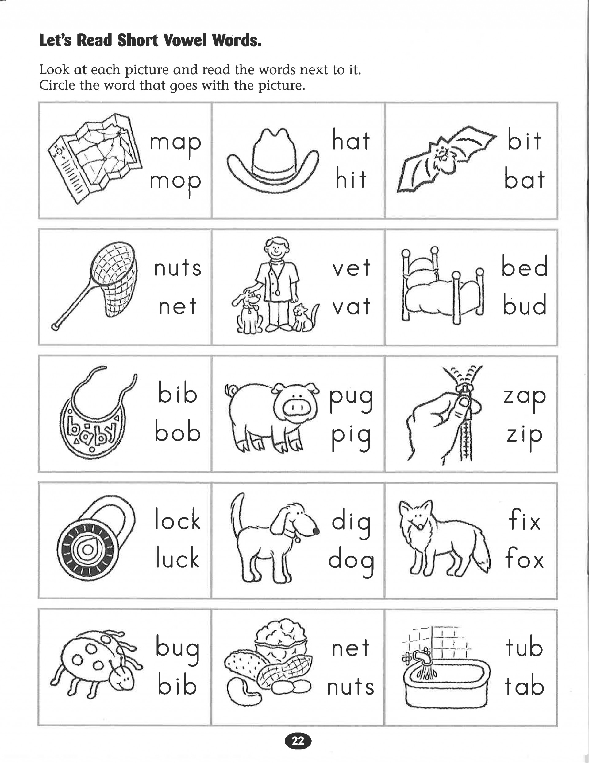 hight resolution of First Grade Vowel Team Worksheets   Printable Worksheets and Activities for  Teachers