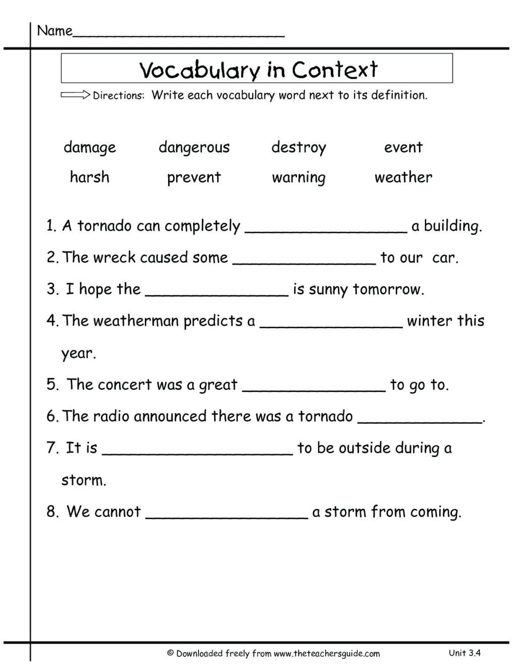 30 Text Structure Worksheet 3rd Grade