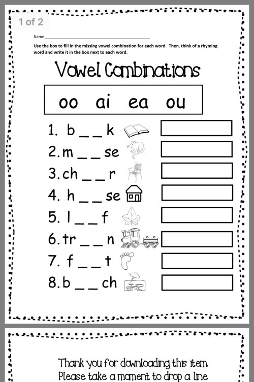 small resolution of Adult Phonics Worksheets   Printable Worksheets and Activities for  Teachers