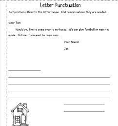 Punctuating Dialogue Worksheet   Printable Worksheets and Activities for  Teachers [ 1650 x 1275 Pixel ]