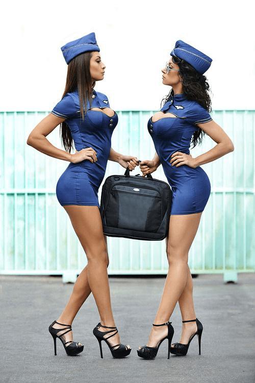 Sexy UNHAS Flight Attendants