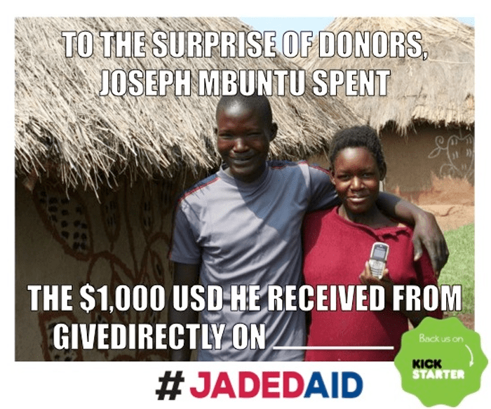 give directly