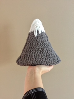 Mini Size 'Peaky' Mountain Pillow