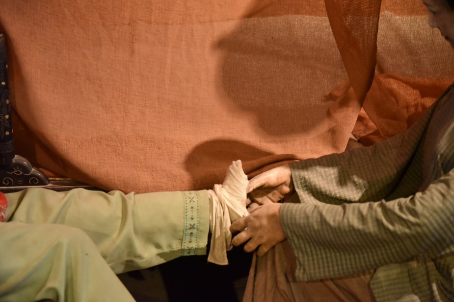 foot binding museum, Wuzhen, Shanghai, china, foot binding, culture, image by jade Jackson