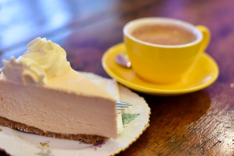 Cheesecake at Amber's Sweet Bliss, Nhill, Victoria. Image by Jade Jackson.