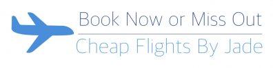 Book a cheap flight now