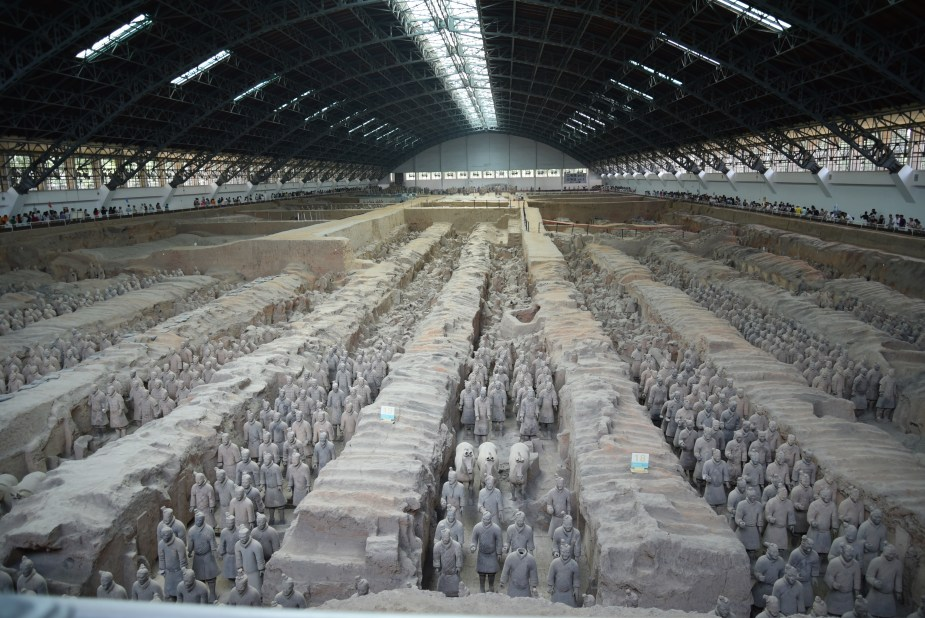 Terracotta Warriors, Xi'an, China, image by Jade Jackson