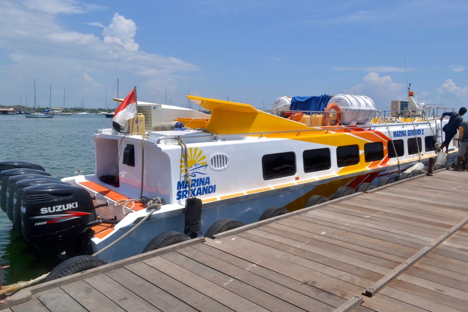 Bali Speedboat, longboat, cruise, speedboat from Bali to Lombok, Indonesia, Cheap travel to Lombok, image by Jade Jackson