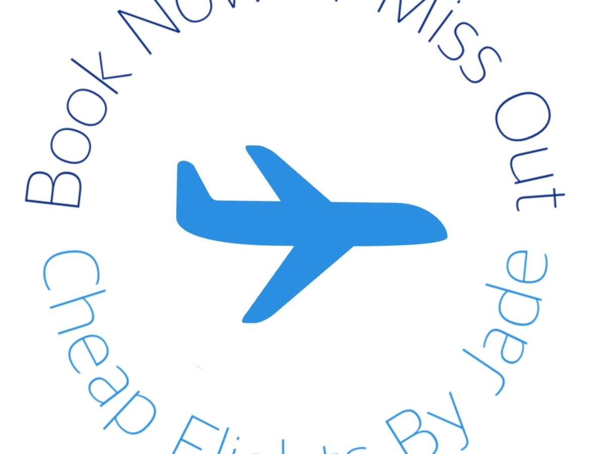 cheap flights by jade podcast logo