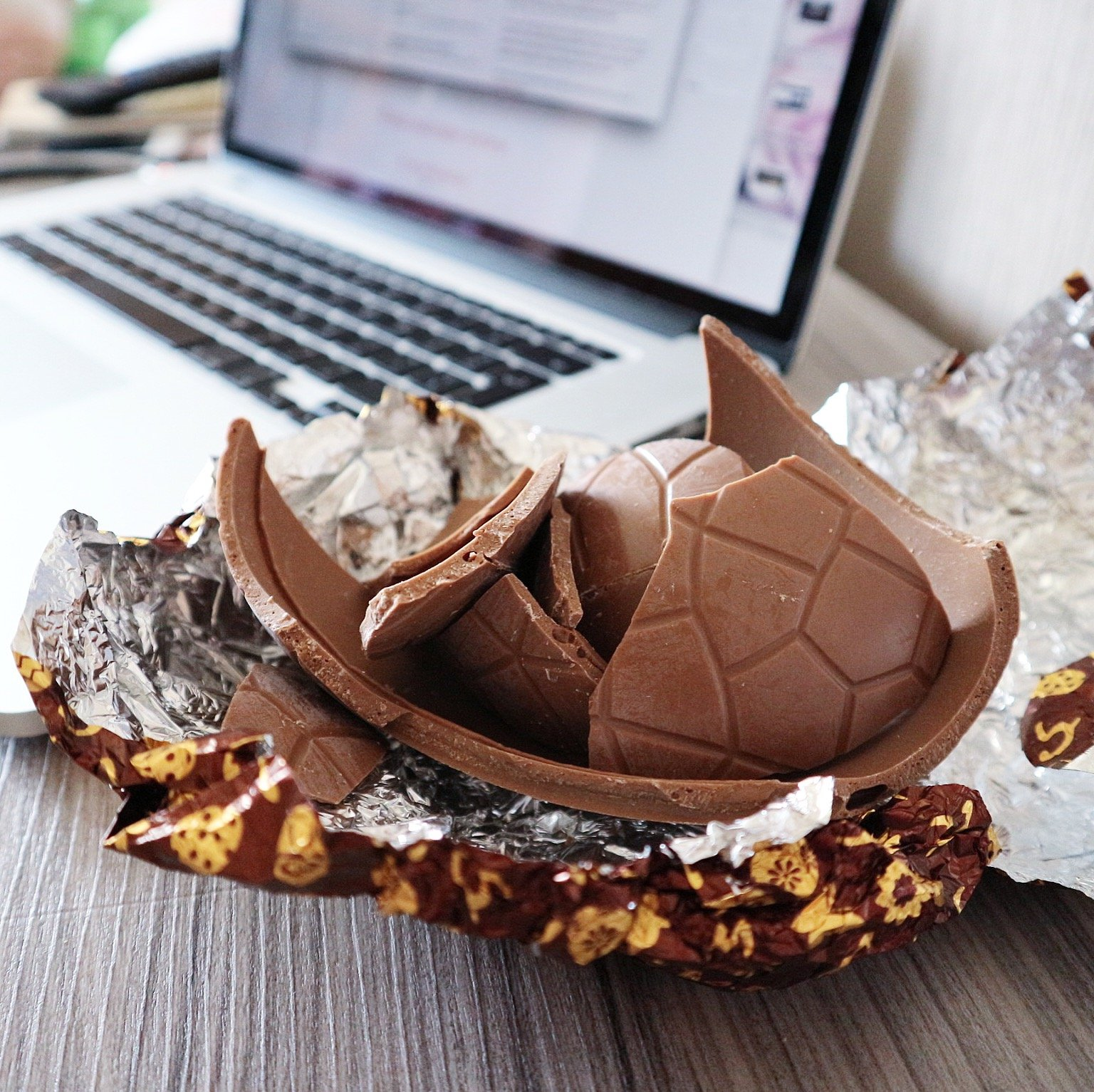 Easter Egg and Blogging