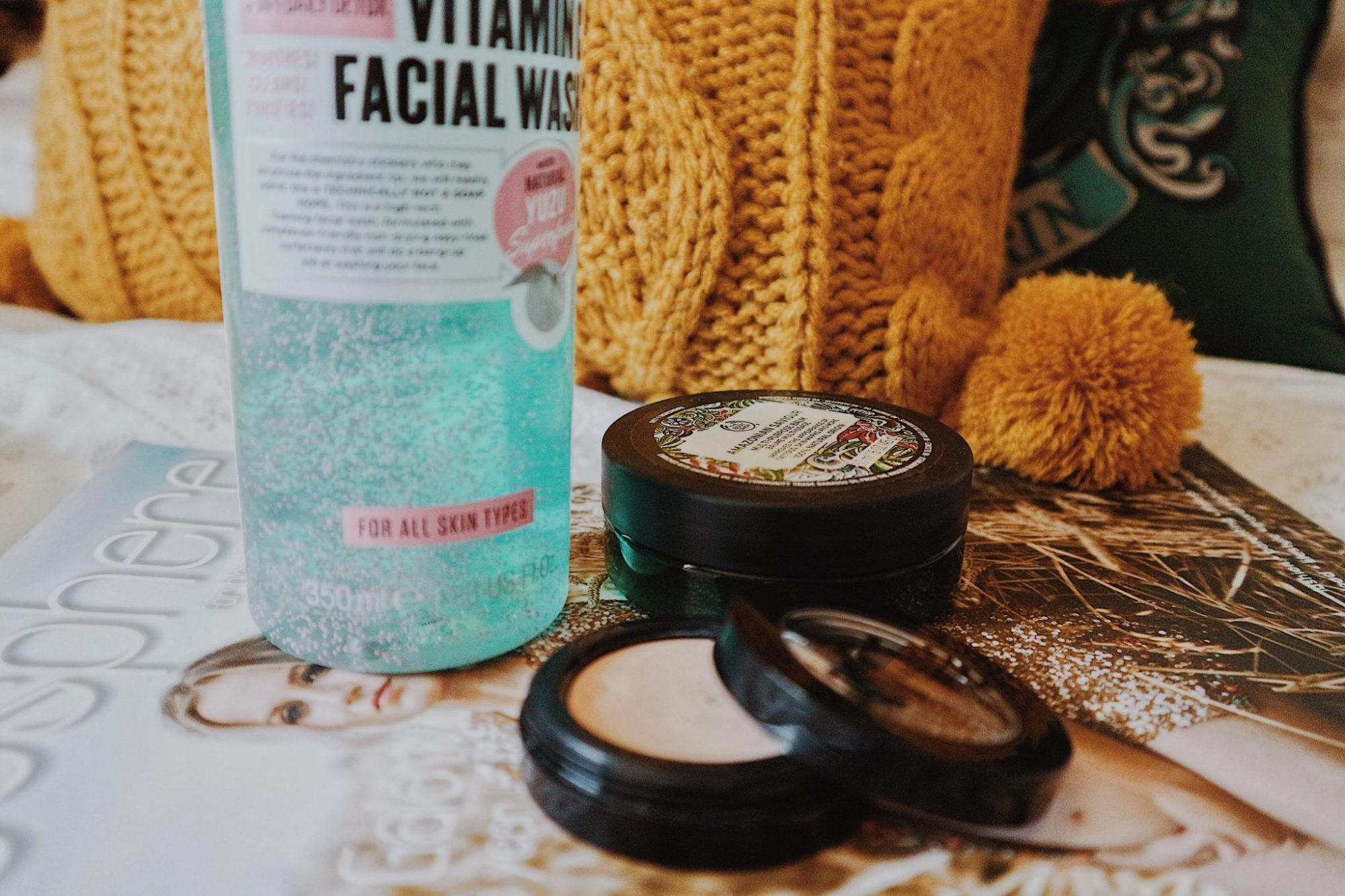 Soap and Glory Face Wash | Benefit Cosmetics Boing Concealer | Blogosphere Magazine