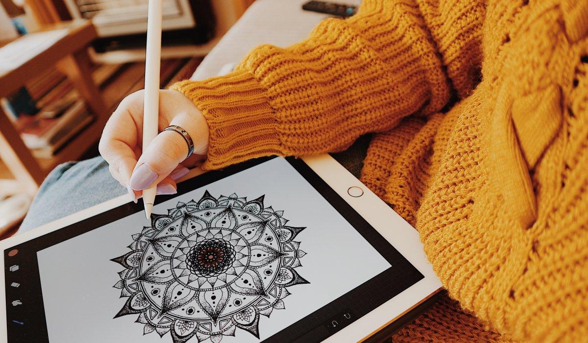 iPad Pro | Apple Pencil | Mandalas | Self Care