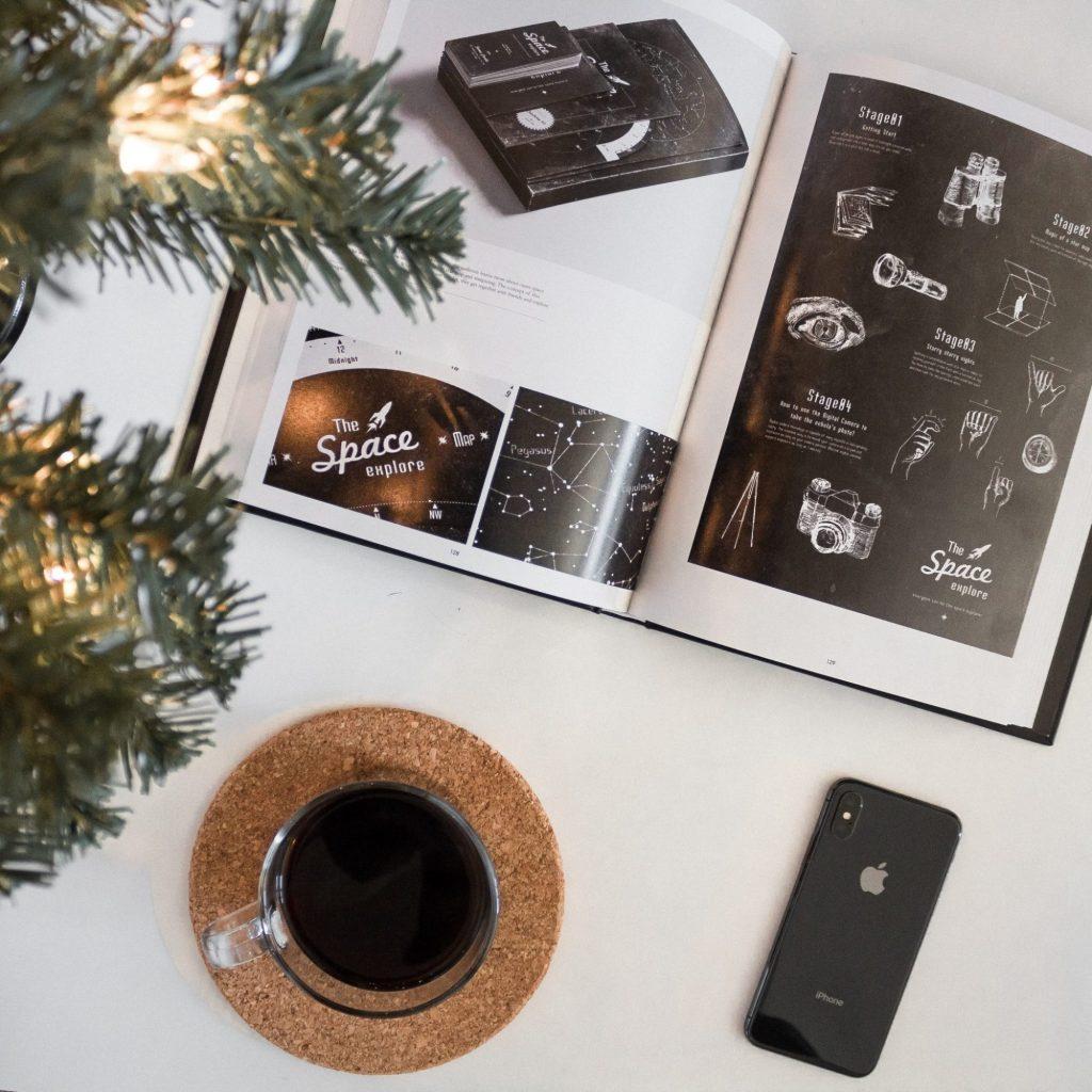 Coffee • Phone • Book