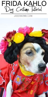 Frida Kahlo Dog Costume