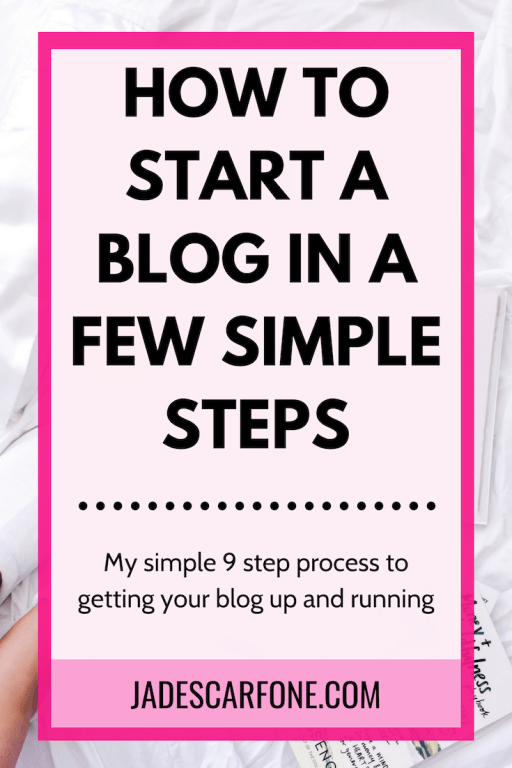 Ever wondered how to start a blog and simply left it at that? So many people think about starting a blog but never get beyond that point. Most often it's because they think it's too hard so they avoid it out of fear. But in fact, it's really not that hard. Ready to go? Here's how to start a blog in a few simple steps!