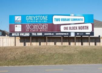 Banner Greystone Sign