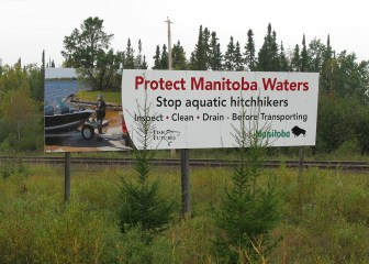 Manitoba Waters Signs