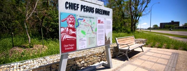 trail signs winnipeg