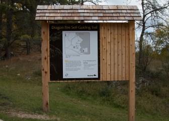 Manitoba Trail Sign
