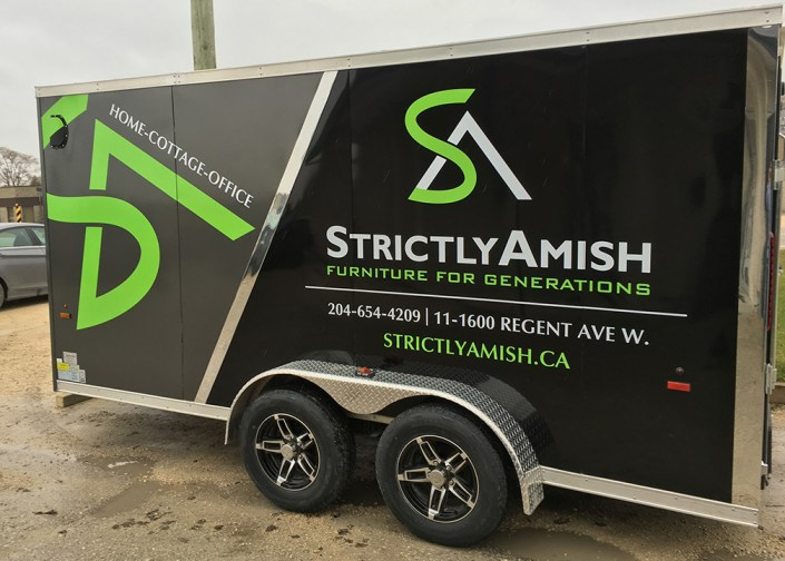 strictly amish trailer wrap