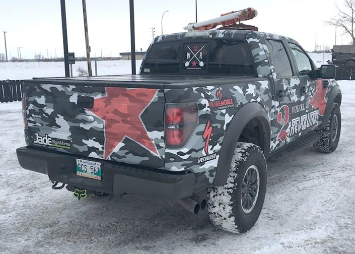 ford raptor vehicle wrap