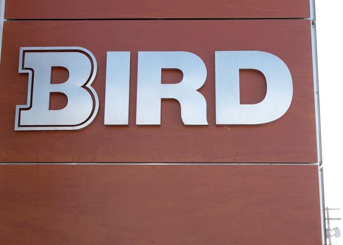 bird construction sign
