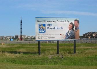 Billboard - Funding Construction RBC