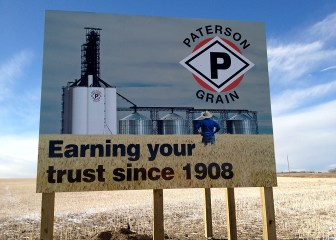 Billboard - Patterson Grains
