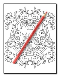 Easter Coloring Book | Free Easter Coloring Book Pages for ...