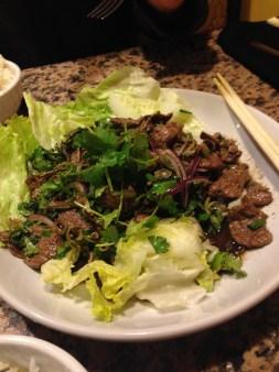 Beef Sald