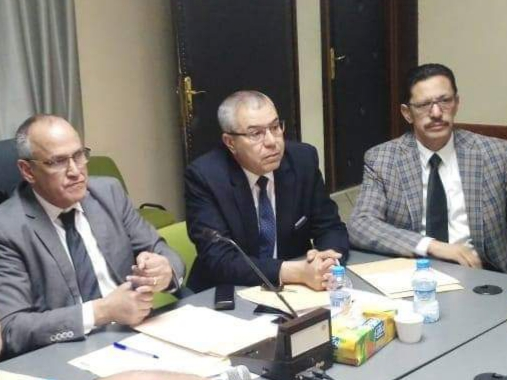 لجنة من المفتشية العامة  لوزارة الداخلية تحل بجماعة بني ملال وسط استنفار بمصالح الجماعة