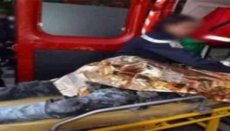 شخص يضرم النار في جسده وسط الطريق السيار بالبيضاء