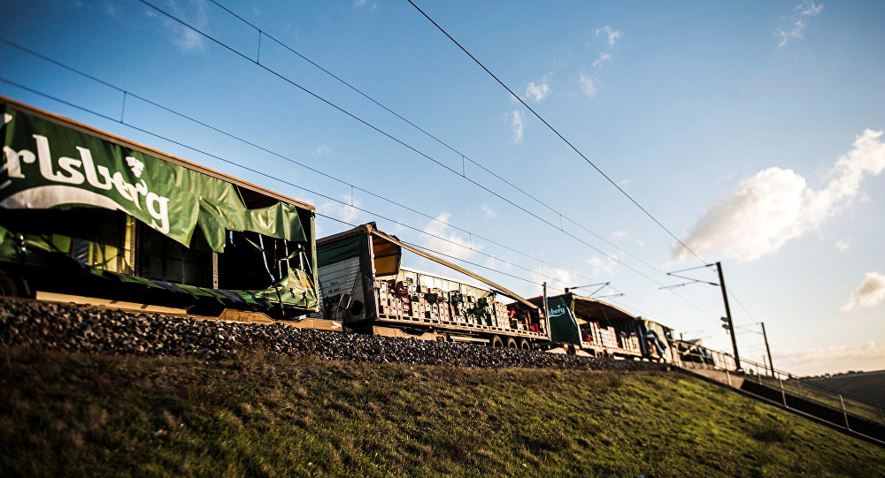 قتلى إثر حادث تصادم قطار في الدنمارك