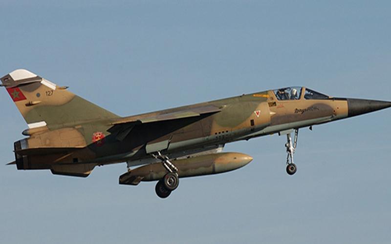 بالفيديو..تحطم طائرة تابعة للقوات المسلحة الملكية بتاونات